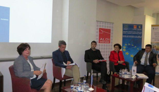 """U Goraždu održana panel diskusija """"Obrazovanje odraslih: Razvoj novih vještina u digitalnom dobu"""""""