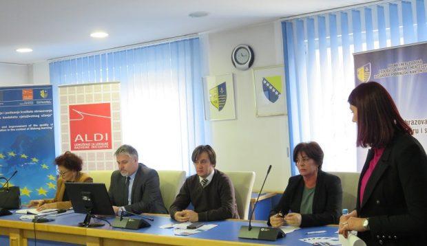 Održana prezentacija buduće Strategije obrazovanja odraslih BPK Goražde