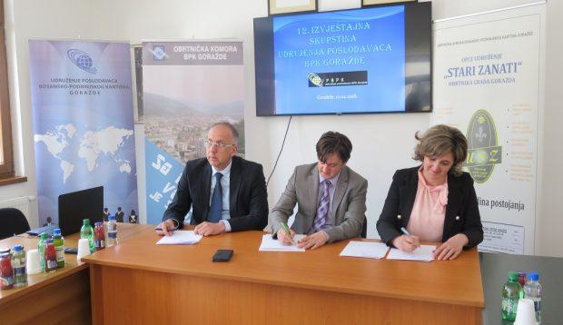 Potpisan Aneks Sporazuma o osnivanju Ekonomsko-socijalnog vijeća BPK Goražde