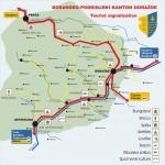 Turisticka karta BPK-a Gorazde