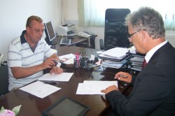 Potpisivanje ugovora, Ministarstvo za boračka pitanja