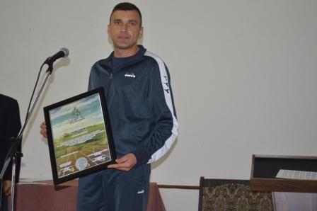Zaim Šuman na dodjeli nagrade
