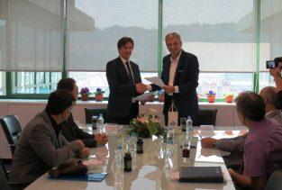 Potpisivanje ugovora o koncesiji 012