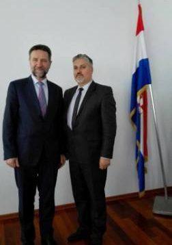Ministar Žuga sa hrvatskim ministrom znanosti i obrazovanja prof.dr. Pavom Barišićem